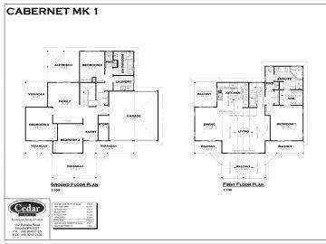 Cabernet MK 1 Flor Plan
