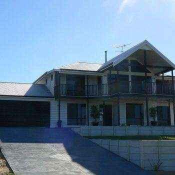 Cedar Homes Cabernet Linea Front view